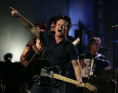 Rocking at the Crump Theatre, Mellencamp delivered with 90 minutes of sweaty roots rock.
