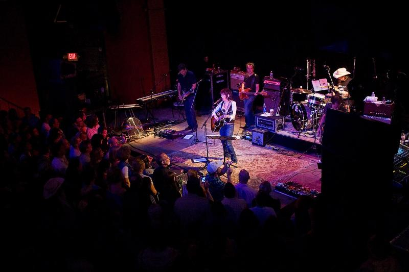 Lucinda Williams drew a full house for her show at the Vogue in Indianapolis